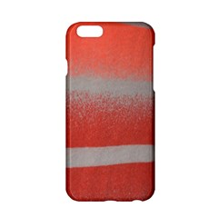 Orange Stripes Colorful Background Textile Cotton Cloth Pattern Stripes Colorful Orange Neo Apple Iphone 6/6s Hardshell Case