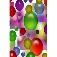 Colored Bubbles Squares Background 5 5  X 8 5  Notebooks