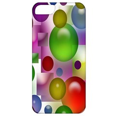 Colored Bubbles Squares Background Apple Iphone 5 Classic Hardshell Case