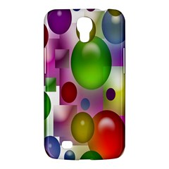 Colored Bubbles Squares Background Samsung Galaxy Mega 6 3  I9200 Hardshell Case by Nexatart