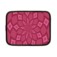 Fusia Abstract Background Element Diamonds Netbook Case (small)  by Nexatart