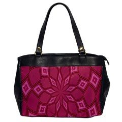 Fusia Abstract Background Element Diamonds Office Handbags