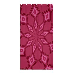 Fusia Abstract Background Element Diamonds Shower Curtain 36  X 72  (stall)  by Nexatart