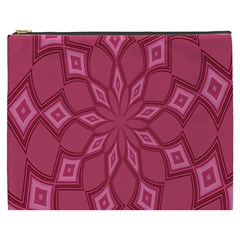 Fusia Abstract Background Element Diamonds Cosmetic Bag (xxxl)  by Nexatart