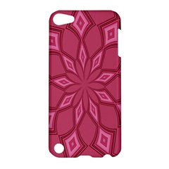 Fusia Abstract Background Element Diamonds Apple Ipod Touch 5 Hardshell Case by Nexatart