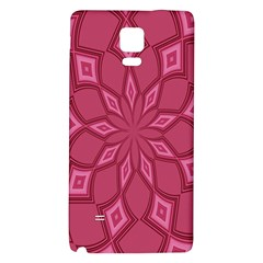 Fusia Abstract Background Element Diamonds Galaxy Note 4 Back Case by Nexatart