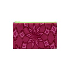 Fusia Abstract Background Element Diamonds Cosmetic Bag (xs) by Nexatart