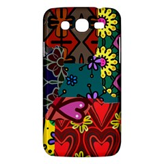 Digitally Created Abstract Patchwork Collage Pattern Samsung Galaxy Mega 5 8 I9152 Hardshell Case  by Nexatart