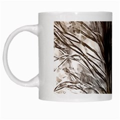 Tree Art Artistic Tree Abstract Background White Mugs by Nexatart