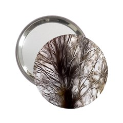 Tree Art Artistic Tree Abstract Background 2 25  Handbag Mirrors by Nexatart