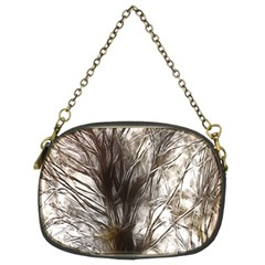 Tree Art Artistic Tree Abstract Background Chain Purses (two Sides)  by Nexatart