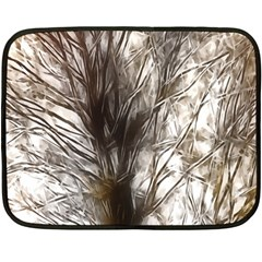 Tree Art Artistic Tree Abstract Background Double Sided Fleece Blanket (mini)