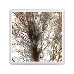Tree Art Artistic Tree Abstract Background Memory Card Reader (square)  by Nexatart
