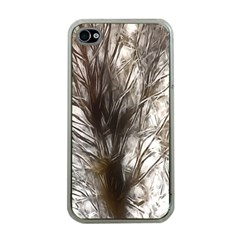 Tree Art Artistic Tree Abstract Background Apple Iphone 4 Case (clear)