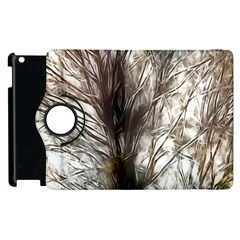 Tree Art Artistic Tree Abstract Background Apple Ipad 3/4 Flip 360 Case by Nexatart