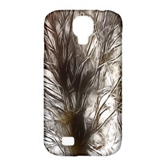 Tree Art Artistic Tree Abstract Background Samsung Galaxy S4 Classic Hardshell Case (pc+silicone)