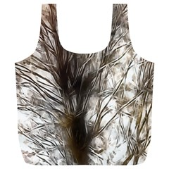 Tree Art Artistic Tree Abstract Background Full Print Recycle Bags (l)