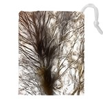 Tree Art Artistic Tree Abstract Background Drawstring Pouches (XXL) Front