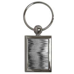Rectangle Abstract Background Black And White In Rectangle Shape Key Chains (rectangle)