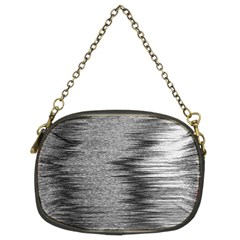 Rectangle Abstract Background Black And White In Rectangle Shape Chain Purses (two Sides)  by Nexatart