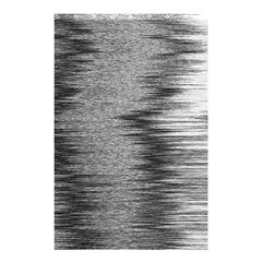 Rectangle Abstract Background Black And White In Rectangle Shape Shower Curtain 48  X 72  (small)  by Nexatart
