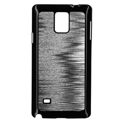 Rectangle Abstract Background Black And White In Rectangle Shape Samsung Galaxy Note 4 Case (Black)