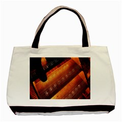 Magic Steps Stair With Light In The Dark Basic Tote Bag (two Sides)