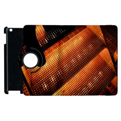 Magic Steps Stair With Light In The Dark Apple Ipad 3/4 Flip 360 Case by Nexatart