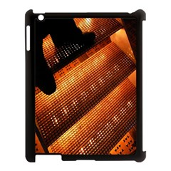 Magic Steps Stair With Light In The Dark Apple Ipad 3/4 Case (black)