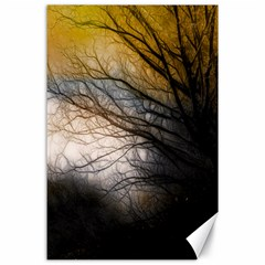 Tree Art Artistic Abstract Background Canvas 24  X 36  by Nexatart