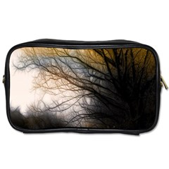 Tree Art Artistic Abstract Background Toiletries Bags 2 Side