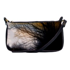 Tree Art Artistic Abstract Background Shoulder Clutch Bags by Nexatart