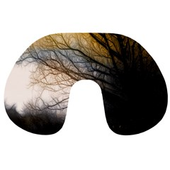 Tree Art Artistic Abstract Background Travel Neck Pillows by Nexatart