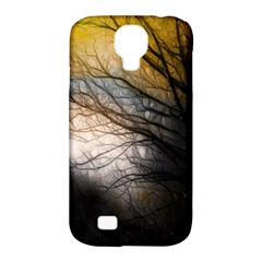 Tree Art Artistic Abstract Background Samsung Galaxy S4 Classic Hardshell Case (pc+silicone) by Nexatart