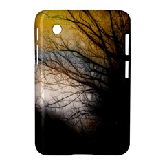 Tree Art Artistic Abstract Background Samsung Galaxy Tab 2 (7 ) P3100 Hardshell Case