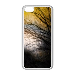 Tree Art Artistic Abstract Background Apple Iphone 5c Seamless Case (white) by Nexatart