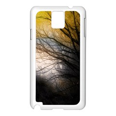 Tree Art Artistic Abstract Background Samsung Galaxy Note 3 N9005 Case (white) by Nexatart