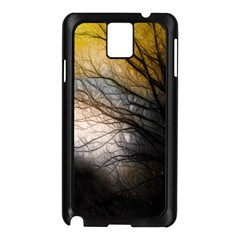 Tree Art Artistic Abstract Background Samsung Galaxy Note 3 N9005 Case (black)