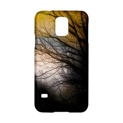 Tree Art Artistic Abstract Background Samsung Galaxy S5 Hardshell Case