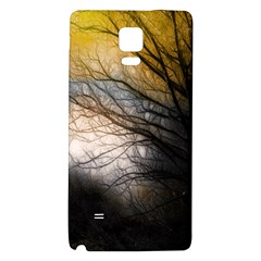 Tree Art Artistic Abstract Background Galaxy Note 4 Back Case by Nexatart