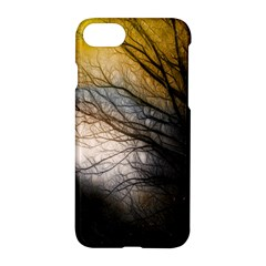 Tree Art Artistic Abstract Background Apple Iphone 7 Hardshell Case by Nexatart