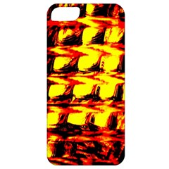 Yellow Seamless Abstract Brick Background Apple Iphone 5 Classic Hardshell Case