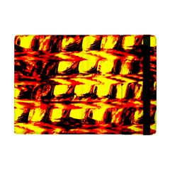 Yellow Seamless Abstract Brick Background Apple Ipad Mini Flip Case