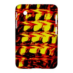 Yellow Seamless Abstract Brick Background Samsung Galaxy Tab 2 (7 ) P3100 Hardshell Case  by Nexatart