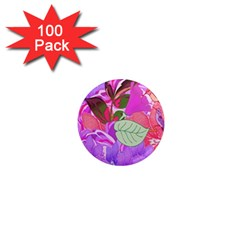 Abstract Design With Hummingbirds 1  Mini Magnets (100 Pack)  by Nexatart