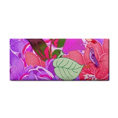 Abstract Design With Hummingbirds Cosmetic Storage Cases by Nexatart