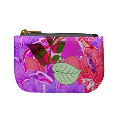 Abstract Design With Hummingbirds Mini Coin Purses
