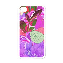 Abstract Design With Hummingbirds Apple Iphone 4 Case (white) by Nexatart