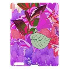 Abstract Design With Hummingbirds Apple Ipad 3/4 Hardshell Case by Nexatart