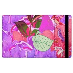 Abstract Design With Hummingbirds Apple Ipad 2 Flip Case by Nexatart